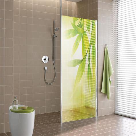 adesivi per box doccia adesivi follia adesivo traslucido per box doccia foglie