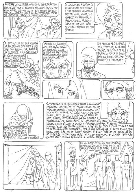 Profº D@nilo: O Homem que Calculava em Quadrinhos
