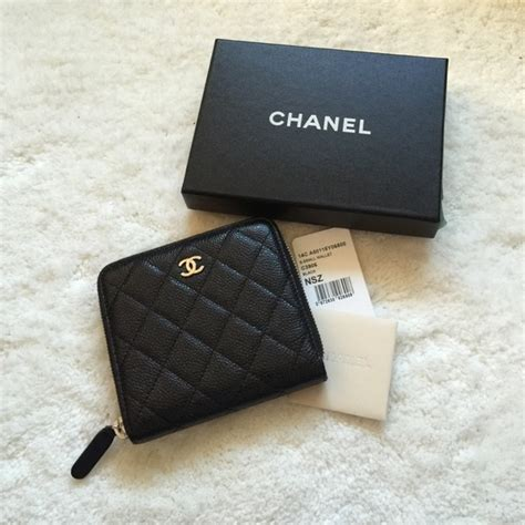 Chanel Classic Mini Wallet 1029 chanel chanel small zip wallet quot petit portefeuille quot from