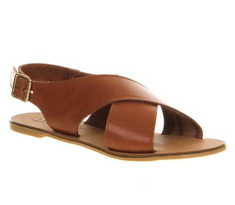 leather sandals womens office hush cross sandal leather sandals