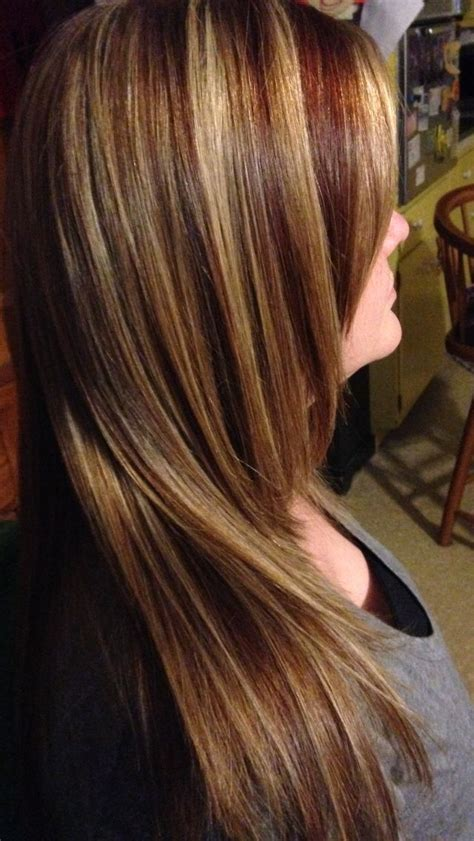 blonde hair with copper lowlights 54 best images about foils on pinterest