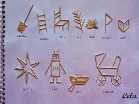 figuras geometricas hechas con palillos pl 193 stica grupo 12 lola