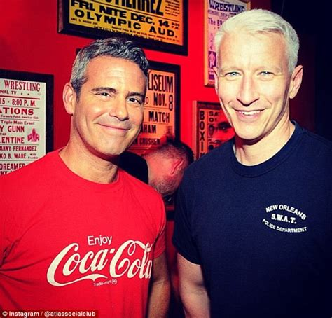 top gay bars nyc anderson cooper s boyfriend tv host andy cohen opens a hip