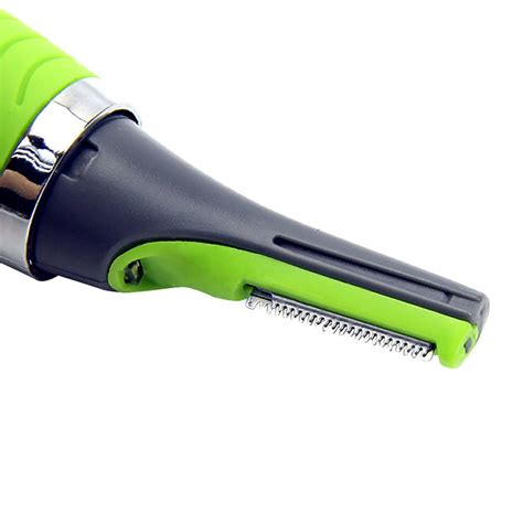 micro touch magic max hair groomer pisau cukur green jakartanotebook