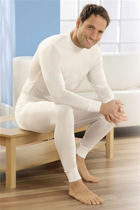 Longjohn Thermal s pack of two silk thermal johns