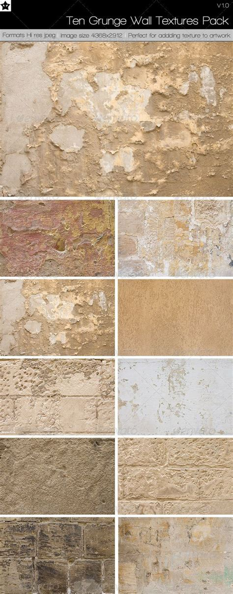 types of wall finishes pictures to pin on pinterest 10 grunge wall textures pack 1 by hollowichigobanki on