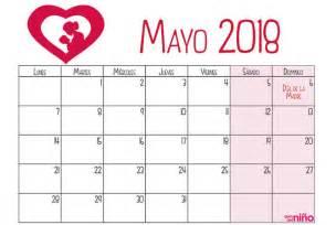 Calendario 2018 Mayo Mayo Calendario Escolar 2017 2018 Para Imprimir