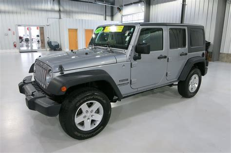 Cpo Jeep Certified Pre Owned 2014 Jeep Wrangler Unlimited Sport