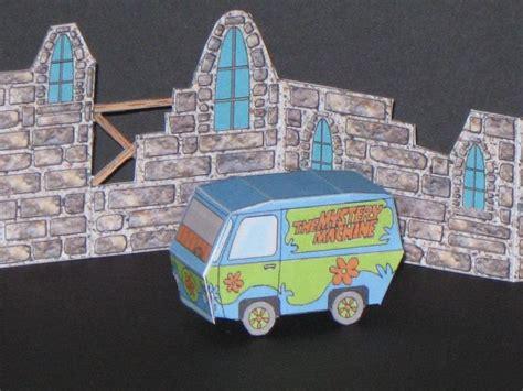 Scooby Doo Papercraft - scooby doo mystery machine papercraft jpg