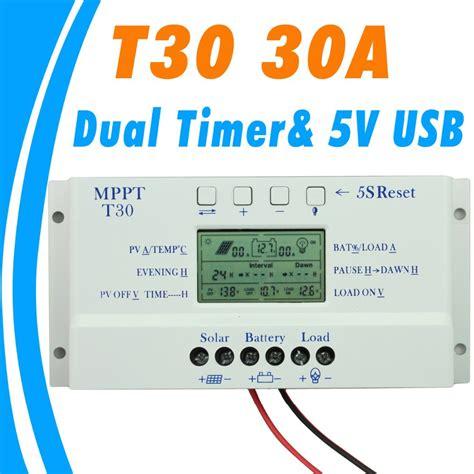 Mppt Solar Charge Controller 30a Pwm Auto 12v 24v купить solar charger controller 30a 12v 24v auto pwm backlight мангара