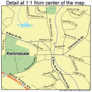 kennesaw map 1343192