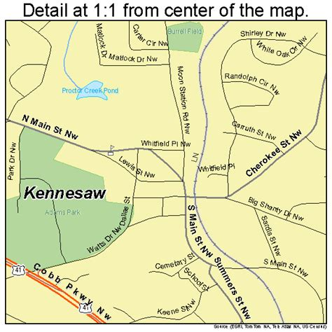 map of kennesaw kennesaw map 1343192