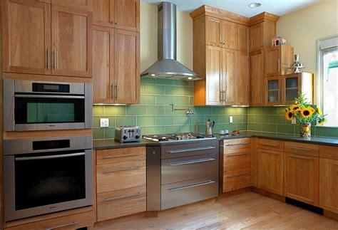 kitchen backsplash green green glass tile backsplash kitchen contemporary with