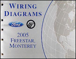 automotive service manuals 2005 mercury monterey user handbook 2005 ford freestar mercury monterey wiring diagram manual original