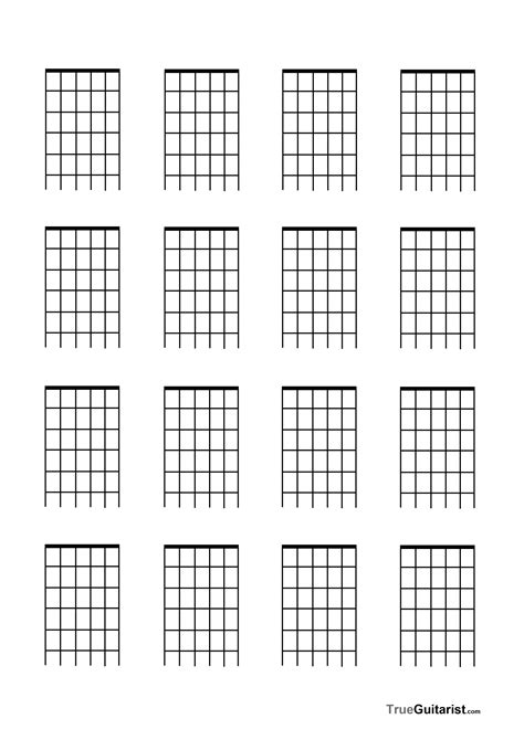 Guitar Neck Templates freebies trueguitarist