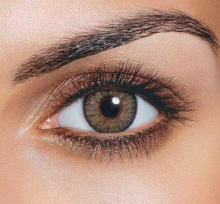 hazel colored contacts hazel non prescription colored contacts freshlook