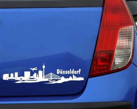 Sticker Drucken D Sseldorf by Autoaufkleber D 252 Sseldorf Aufkleber Skyline 25 Farben 8
