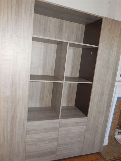 bookshelves custom custom bookcases in graphite matte finish nyc