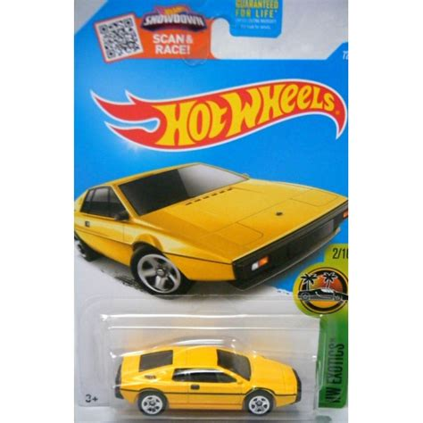 Hotwheels Lotus Jamesbond wheels lotus esprit s1 global diecast direct