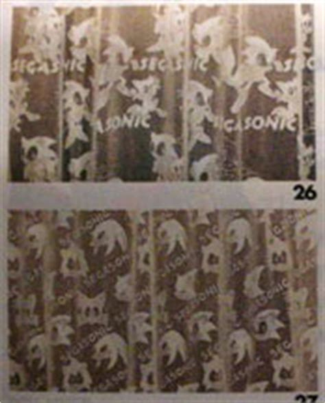sonic curtains sonic the hedgehog home decor of japan