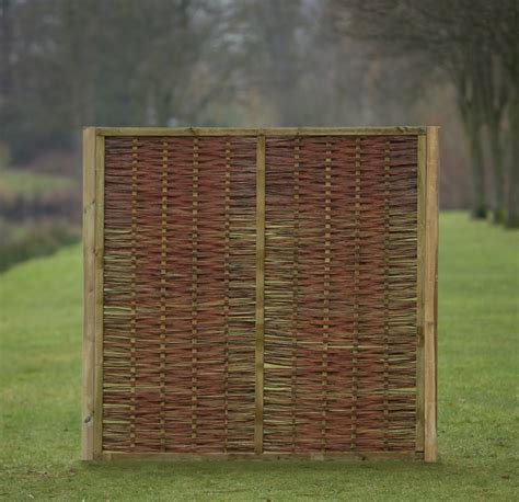 fence panels willow fence panel