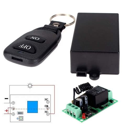 12v Relay 1ch Wireless Rf Remote Switch Transmitter Receiver Dc 12v 10a Relay 1ch Wireless Rf Remote Switch Transmitter Receiver Ape In Remote