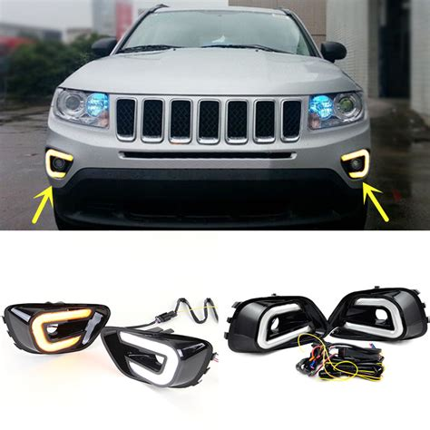 2016 jeep lights for jeep compass 2011 2016 drl daytime running lights