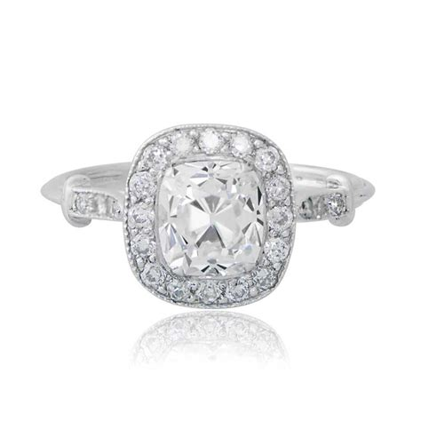 Cushion Cut Engagement Rings by Cushion Cut Cushion Cut Engagement Ring