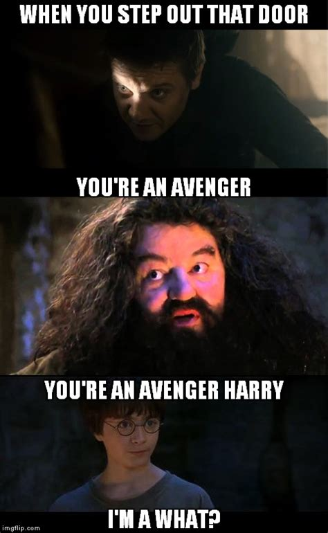 You Re A Wizard Harry Meme - harry potter and the floating city of sokovia imgflip