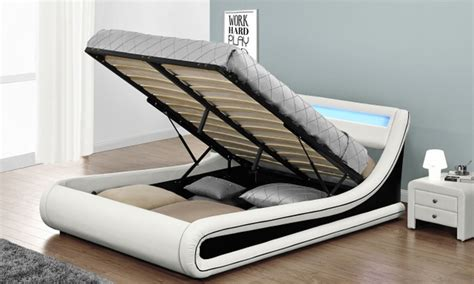 base letto base letto con luce led groupon goods