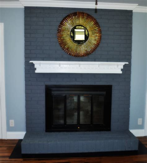 Brick Fireplace Facelift by Brick Fireplace Facelift Wallums Wall Decor