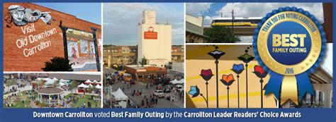 City Of Carrollton Warrant Search Downtown Carrollton City Of Carrollton Tx