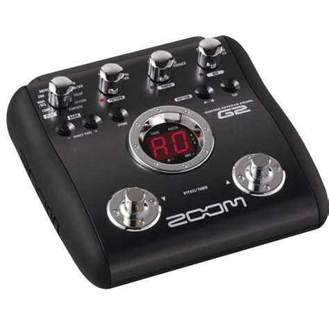 Guitar Pedal zoom g2 guitar effects pedal