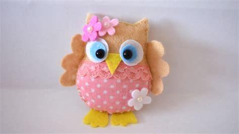 crafts felt how to make a pretty felt and fabric owl diy crafts