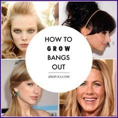 how to grow out your bangs hair world magazine 1000 images about locks on pinterest bangs katie
