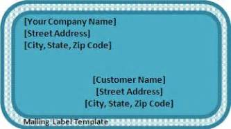 Package Mailing Label Template by Label Templates Archives Templates
