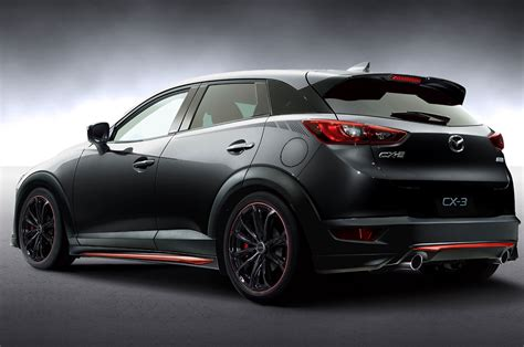 mazda cx3 custom mazda to showcase miata cx 3 racing concepts at tokyo