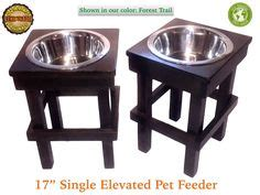 Feeder New Single How To Measure A Large For An Elevated Pet Feeder