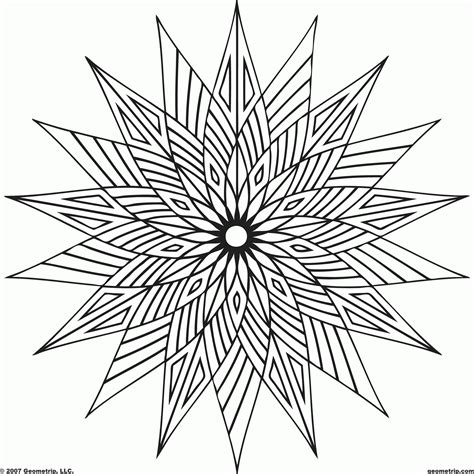geometric coloring pages easy simple geometric coloring pages coloring home