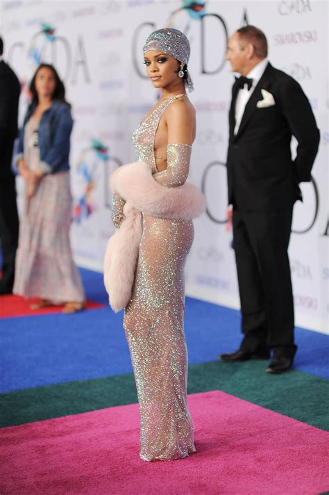 rihanna best dress the rihanna everyone is talking about and more cfda