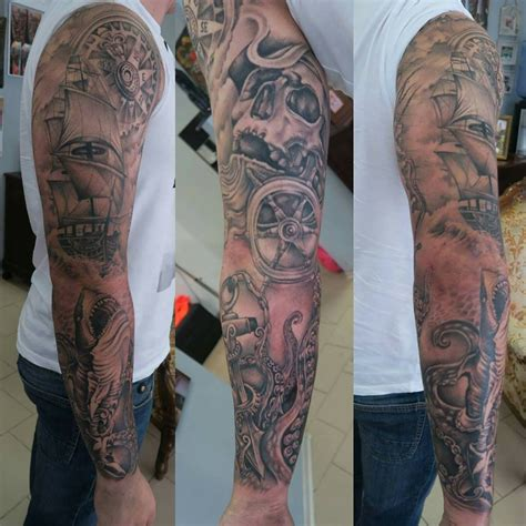 sea sleeve tattoo designs list of synonyms and antonyms of the word sea tattoos