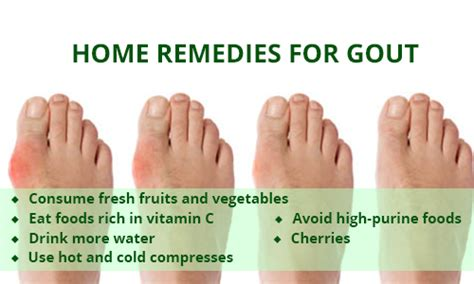 gouty arthritis home remedies and its treatment