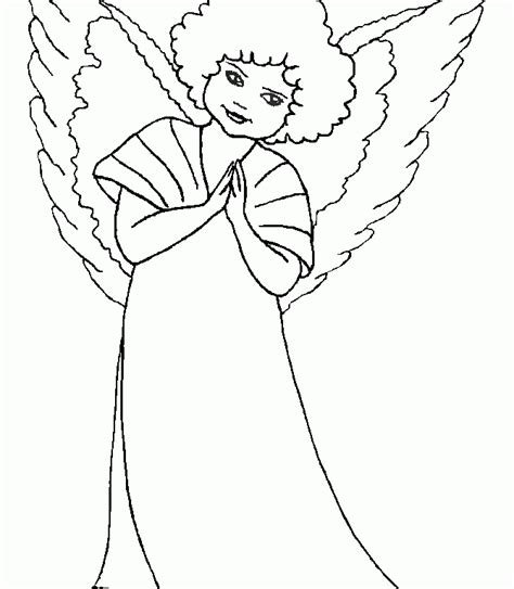 guardian angel coloring pages cliparts co