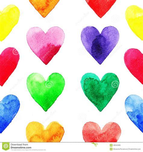 heart pattern rainbow rainbow hearts pattern stock illustration image 46542465