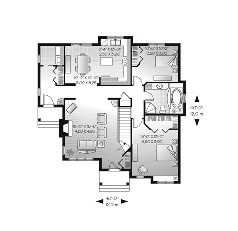 american house floor plan larbrook early american home plan 032d 0722 house plans