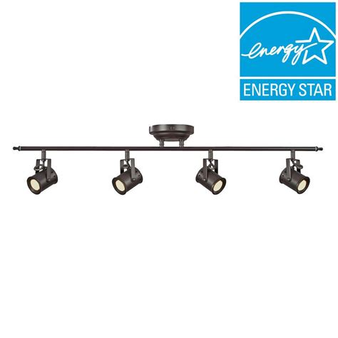 home depot track lighting kits aspects 3 light satin nickel dimmable fixed track