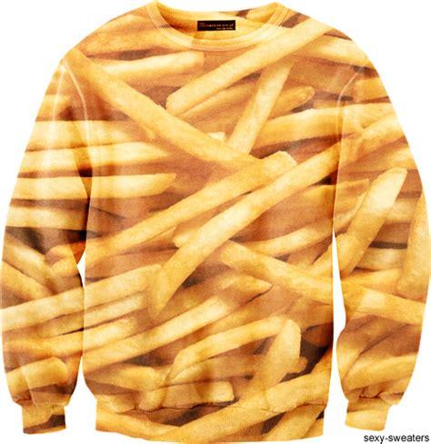 Sweater Fries cheeseburger sweatshirt