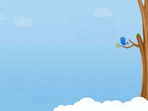 cute animated bird cartoon background 6401