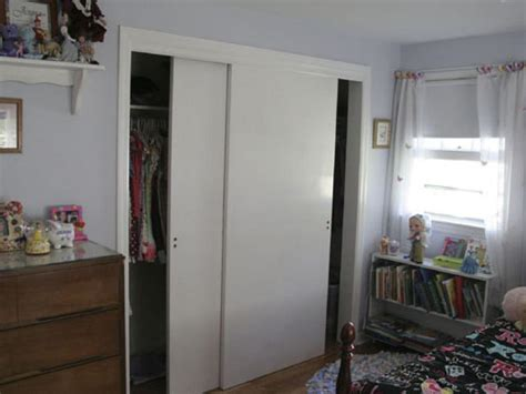 white sliding closet door for small bedroom design of