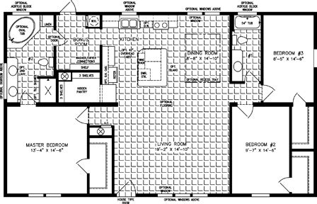 1400 to 1599 sq ft manufactured home floor plans 1400 to 1599 sq ft manufactured home floor plans